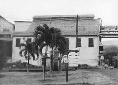 Pioneer Mill, Lahaina, Maui, 2003. (COH photo.)