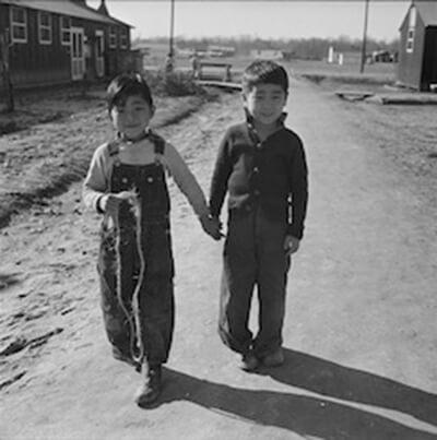 Jerome Relocation Center, Dermott, Arkansas.Young children at Jerome Relocation Center. (NARA - 539502) by Van Tassel, Gretchen, Photographer [NARA record: 8467722]