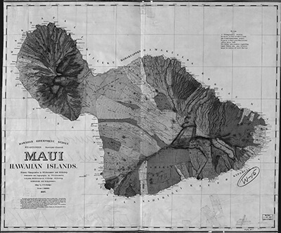 Maui, Hawaiian islands, Library of Congress Geography and Map Division Washington, D.C.